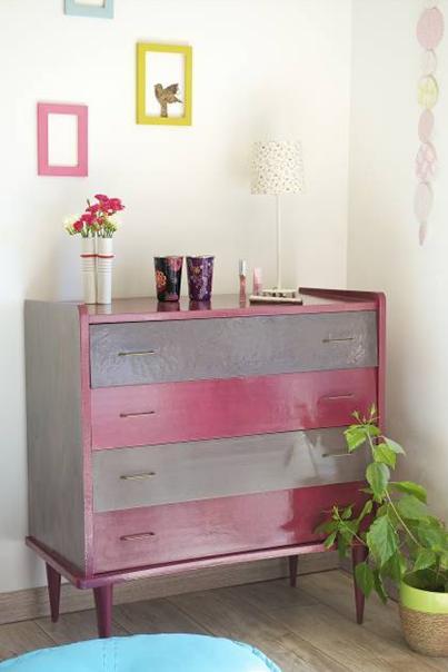 Customiser un meuble r nover un meuble peinture pour bois - Renover un meuble industriel ...