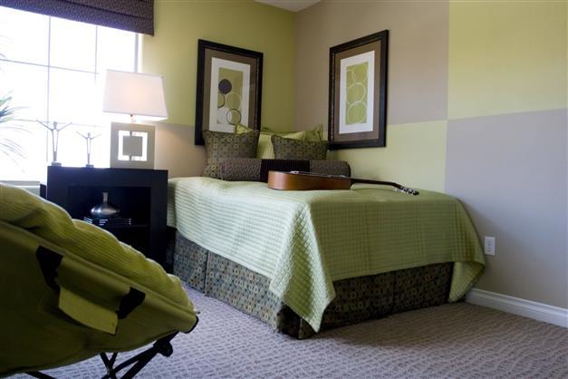 osez le bicolore dans votre chambre chambre deco. Black Bedroom Furniture Sets. Home Design Ideas