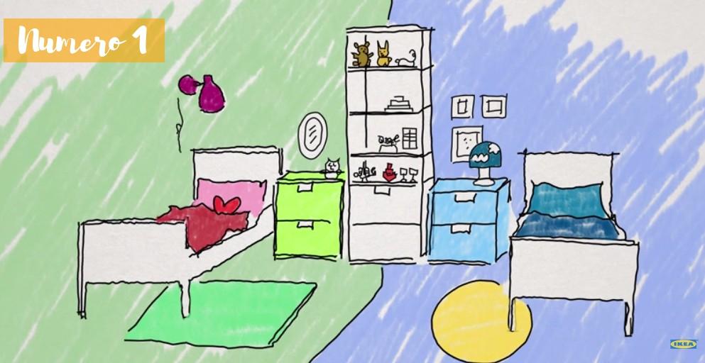 Bonnes idées d'aménagement d'une chambre d'enfant partagée
