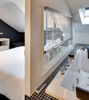 Am nager une salle de bains dans une chambre c est for Amenager une salle de bain dans une chambre