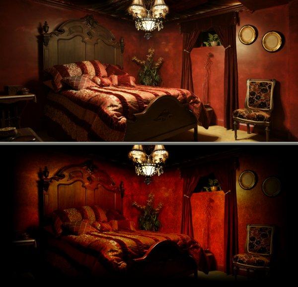 Chambre baroque chambre deco astuces ambiance chambre baroque - Chambre deco baroque ...