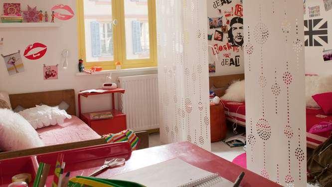 Des parois amovibles pour une chambre partagée qui s'adapte