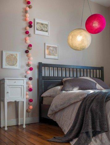 La guirlande lumineuse pour illuminer une chambre - Chambre Deco